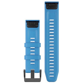 Garmin QuickFit Bracelet de montre en silicone 22mm pour Fenix 6, blue